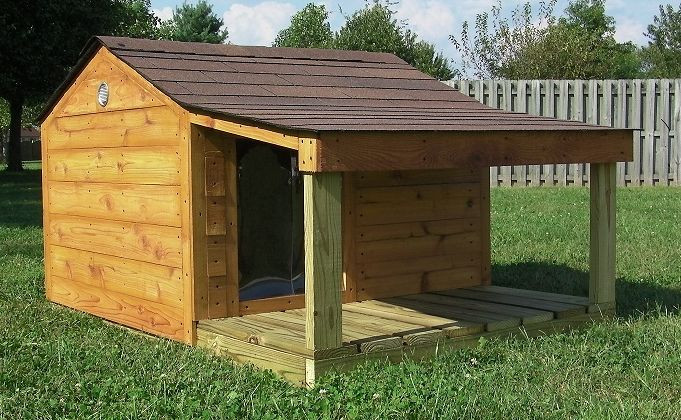 DIY Large Dog House  Training wood project Tell a How to build a xl dog house