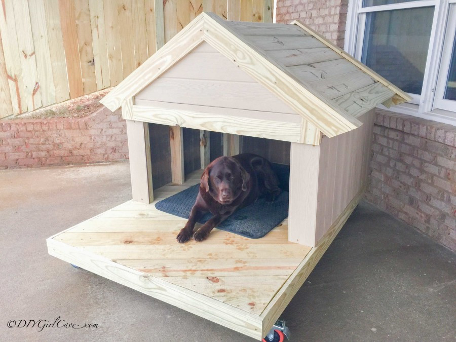 DIY Large Dog House  DIY Dog House Plans And Ideas Your Best Friend Will