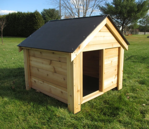 DIY Large Dog House  Dog Houses For Dogs Doowaggle