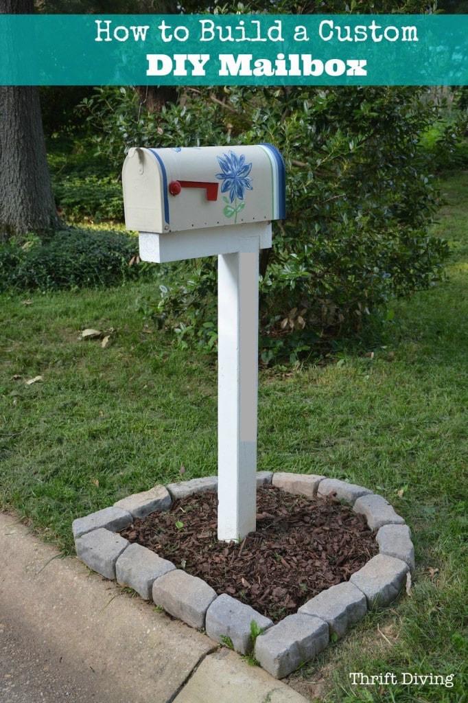 DIY Mailbox Ideas  How to Build Paint and Install a Custom DIY Mailbox