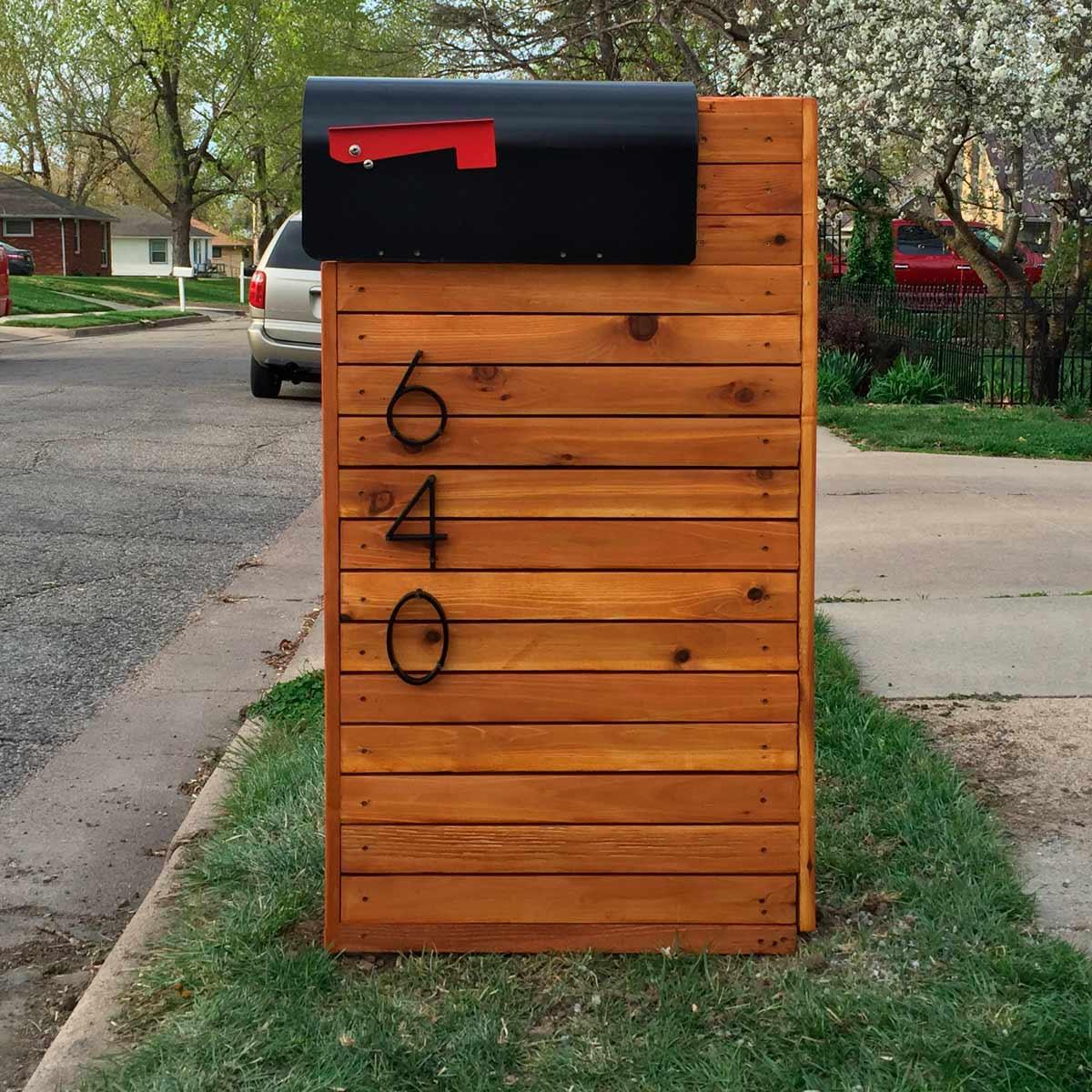 DIY Mailbox Ideas  Reader Project DIY Solid Cedar Mailbox — The Family Handyman