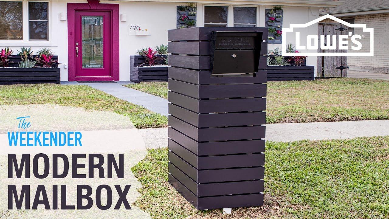 DIY Mailbox Ideas  DIY Custom Mailbox