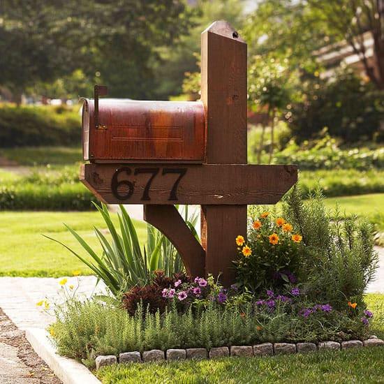 DIY Mailbox Ideas  Exclusive and Wel ing DIY Mailbox Ideas