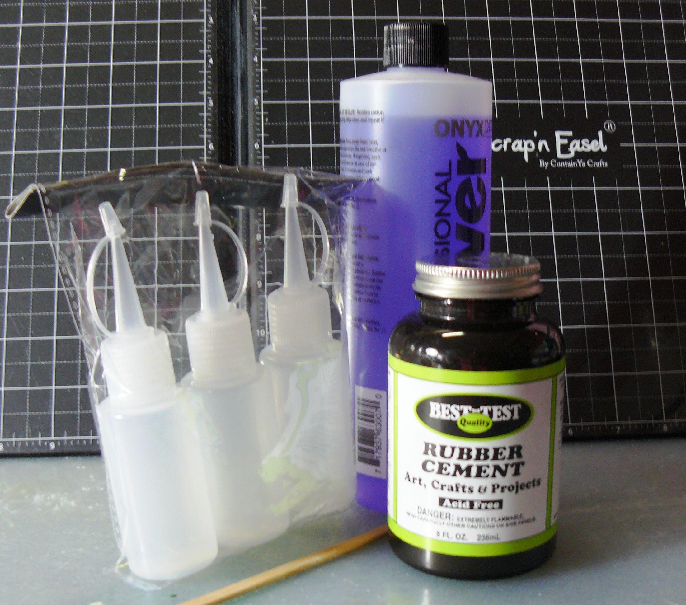 DIY Masking Fluid  2 3 rubber cement 1 3 acetone – Masking Fluid