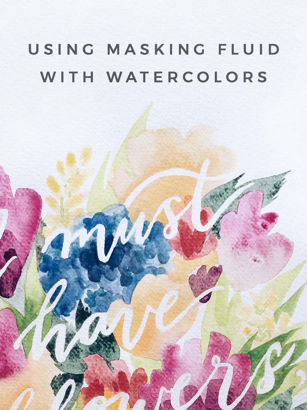DIY Masking Fluid  How To Make Homemade Masking Fluid For Watercolor Painting