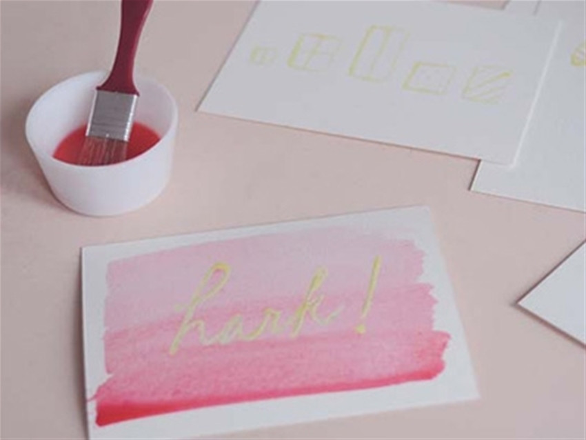 DIY Masking Fluid  exclusive frankie diy masking fluid card fun • craft