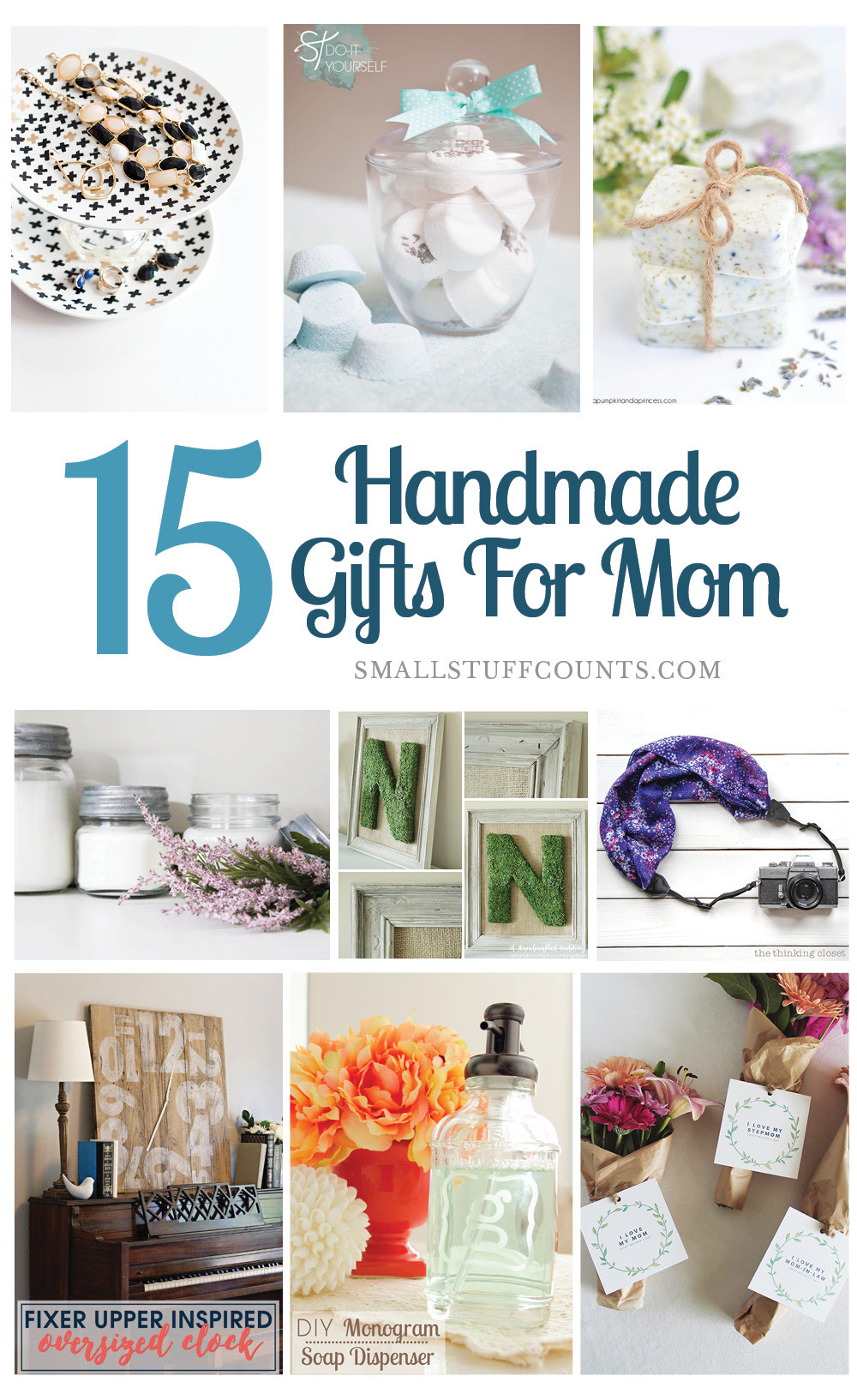 DIY Mother Gifts  Beautiful DIY Gift Ideas For Mom