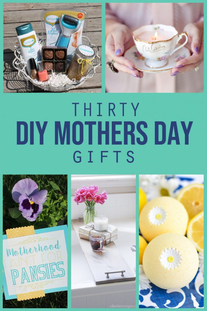 DIY Mother Gifts  Thirty DIY Mothers Day Gifts thecraftpatchblog