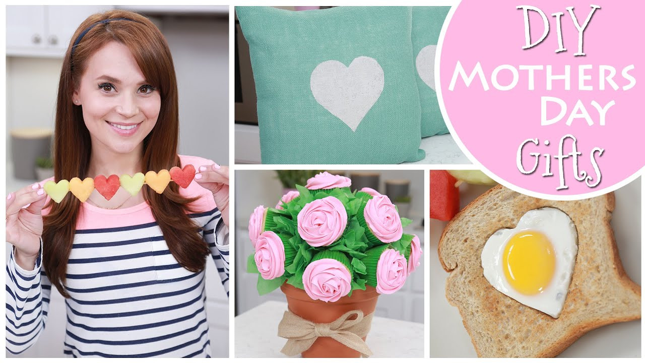DIY Mother Gifts  DIY MOTHERS DAY GIFT IDEAS