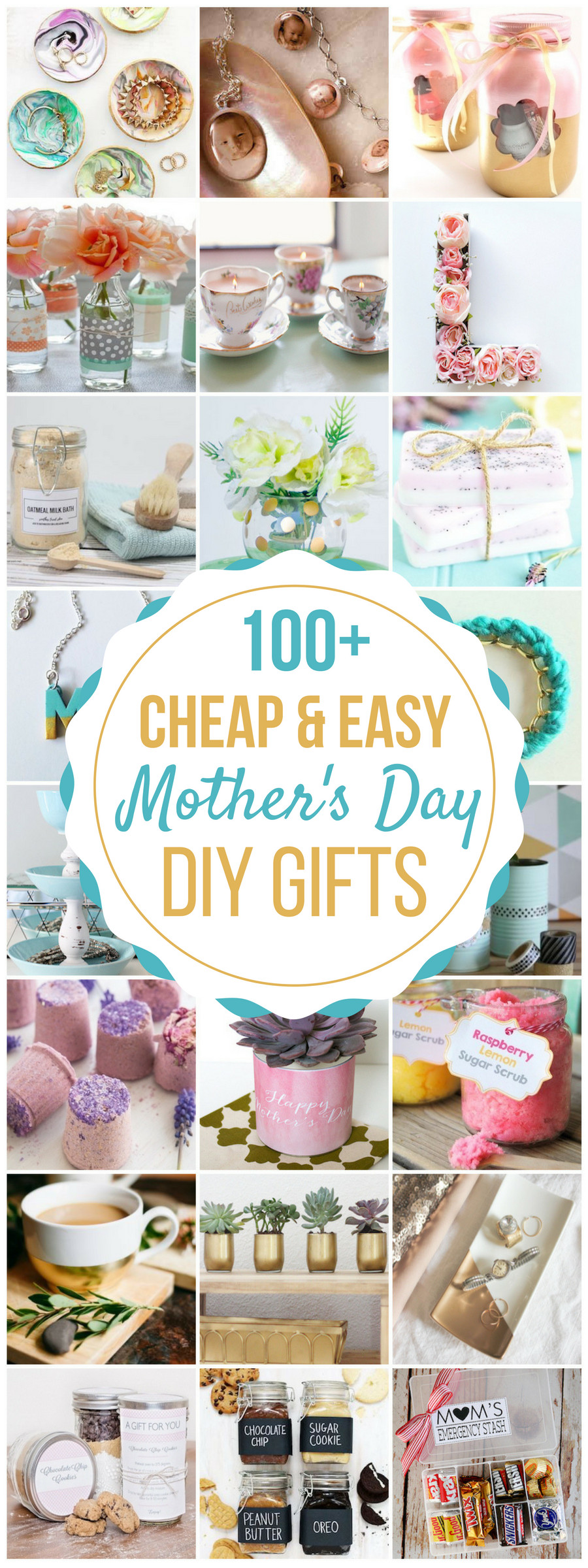 DIY Mother Gifts  100 Cheap & Easy DIY Mother s Day Gifts Prudent Penny