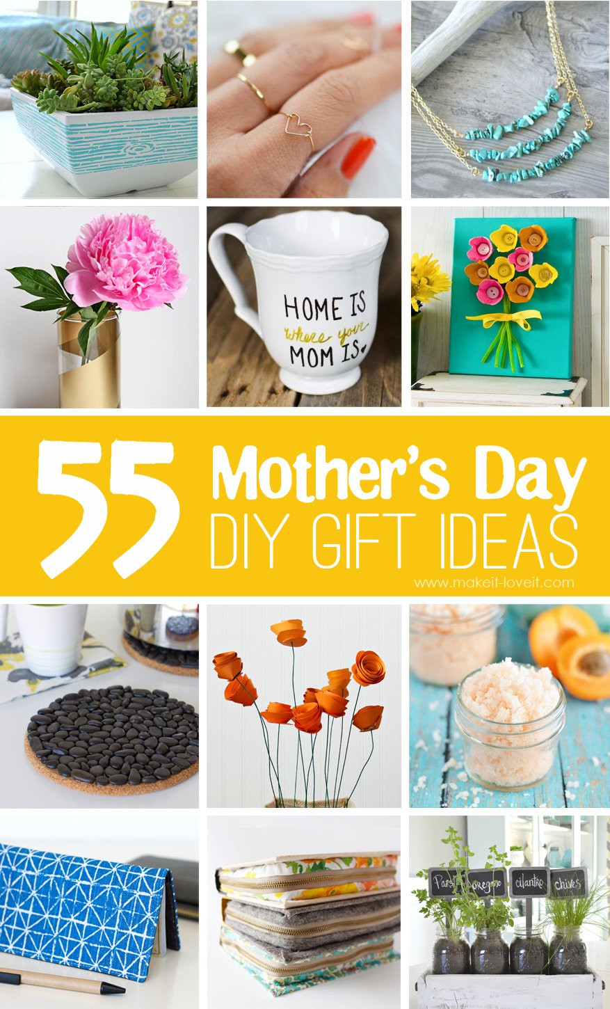 DIY Mother Gifts  40 Homemade Mother s Day Gift Ideas