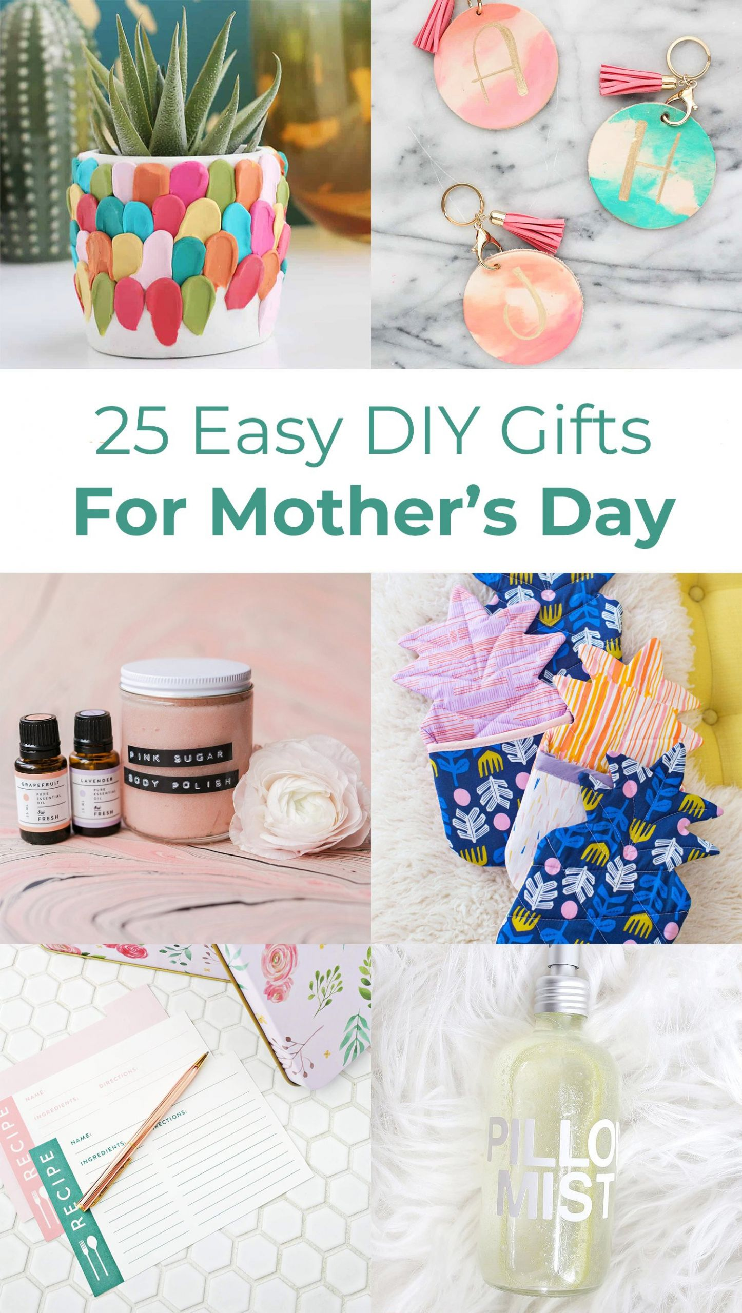 DIY Mother Gifts  25 Easy DIY Gift Ideas For Mother s Day A Beautiful Mess