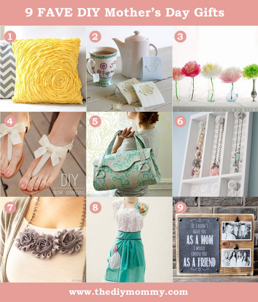 DIY Mother Gifts  DIY Mother s Day Gift Ideas to Sew or Craft
