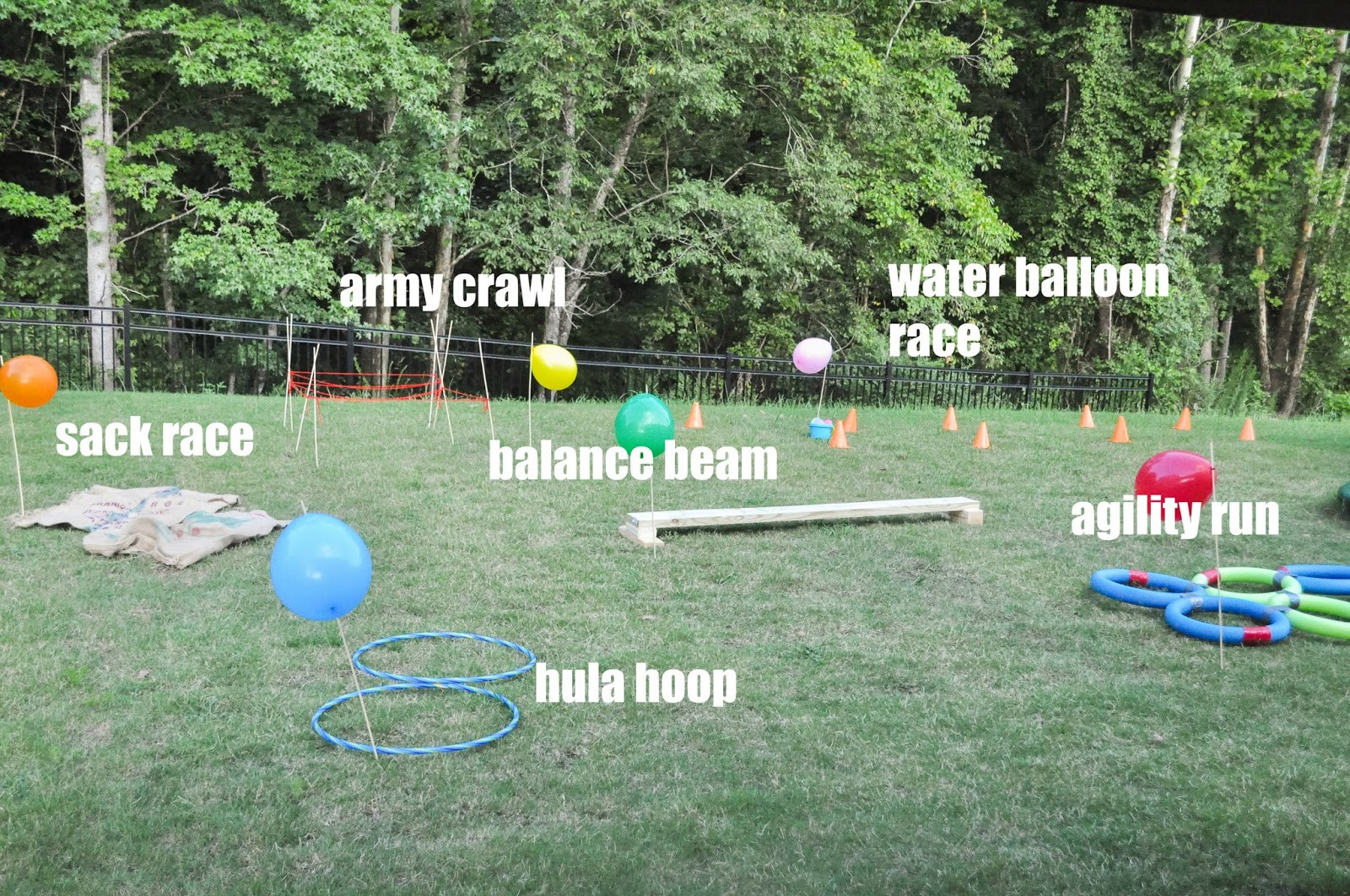 DIY Obstacle Course For Kids  How to Create a Backyard Obstacle Course for Your Kids