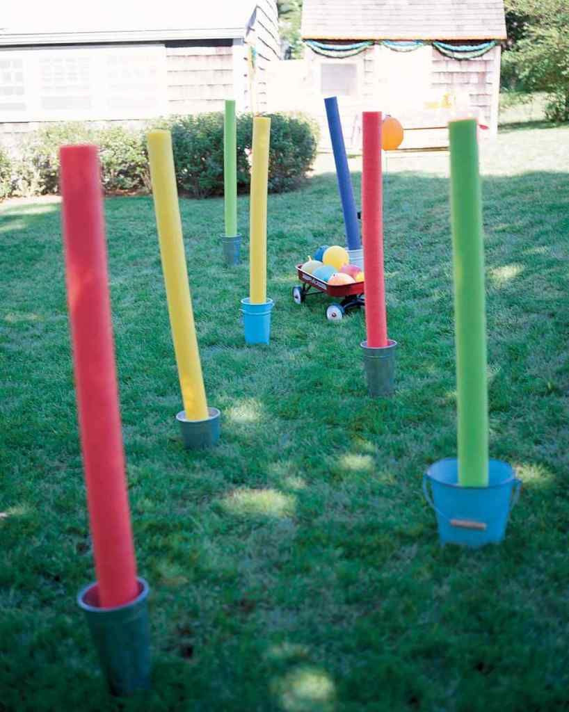 DIY Obstacle Course For Kids  Tons of backyard Olympic games to kids in the spirit