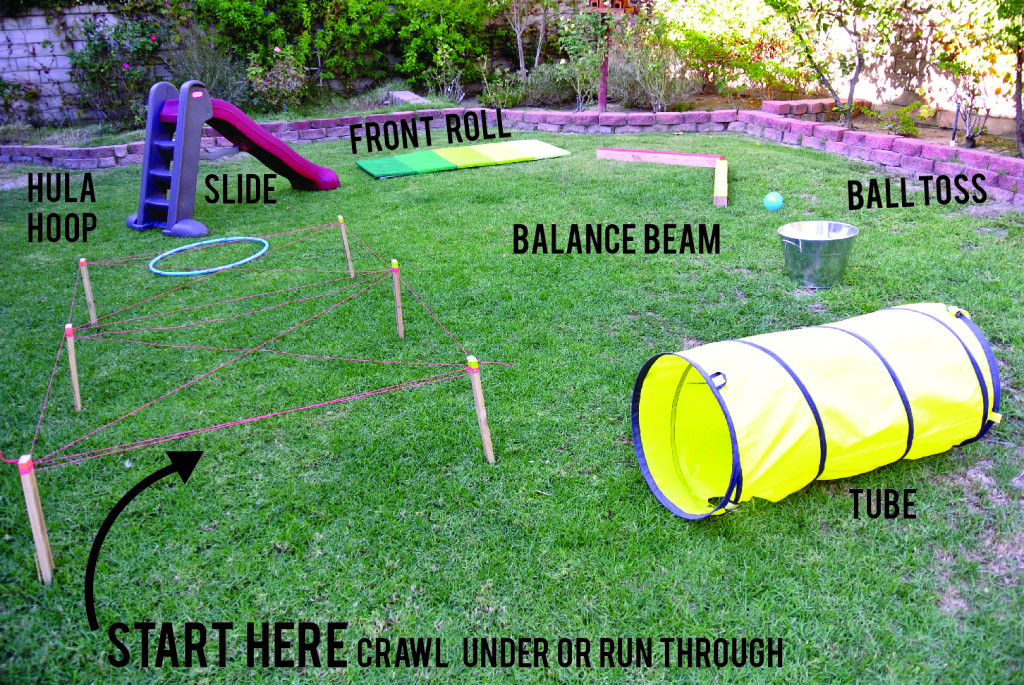 DIY Obstacle Course For Kids  Little Kids Long Weekend