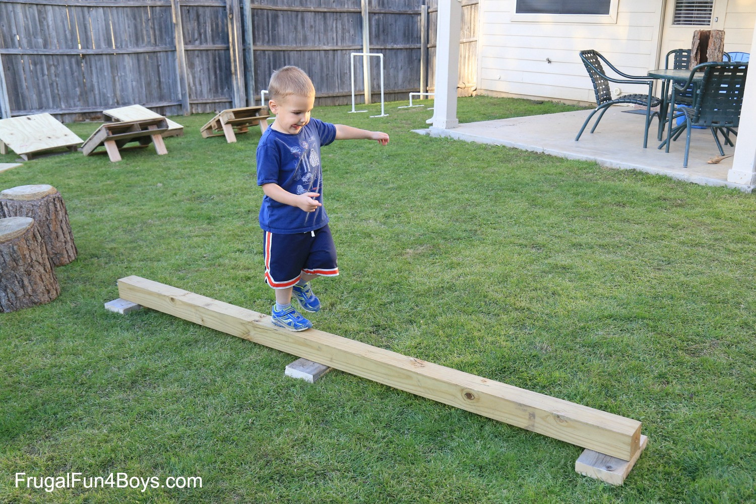 DIY Obstacle Course For Kids  DIY American Ninja Warrior Backyard Obstacle Course