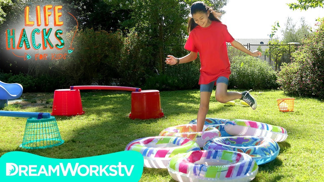 DIY Obstacle Course For Kids  DIY Backyard Obstacle Course