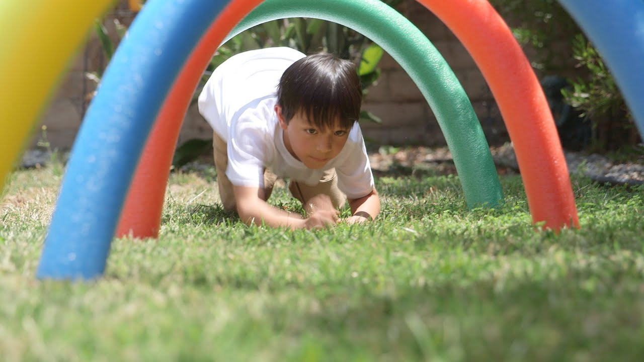 DIY Obstacle Course For Kids  The Ultimate DIY Backyard Obstacle Course For Kids