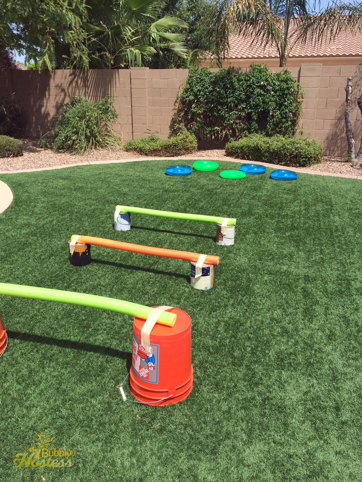 DIY Obstacle Course For Kids  The Bubbly Hostess Wipeout Birthday Party