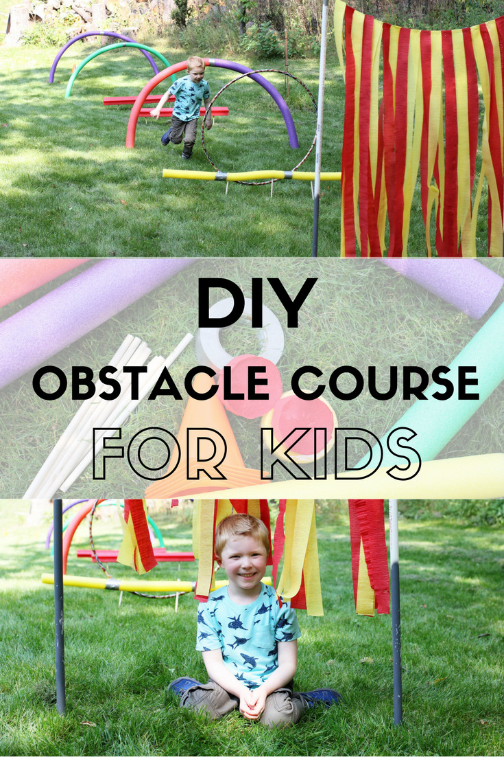 DIY Obstacle Course For Kids  DIY Obstacle Course for Kids