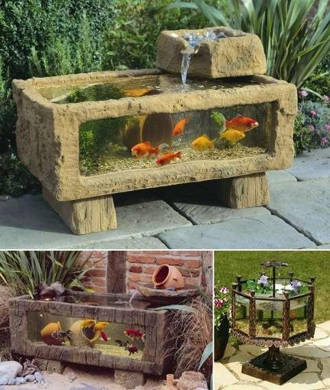 DIY Outdoor Aquarium  5 Outdoor Aquarium Designs that will Bring Life to Your