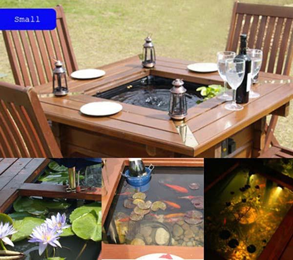 DIY Outdoor Aquarium  22 Small Garden or Backyard Aquarium Ideas Will Blow Your