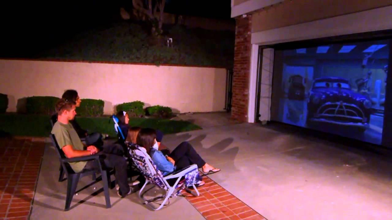 DIY Outdoor Movie Screen Material  Elite Screens DIY REAR Series