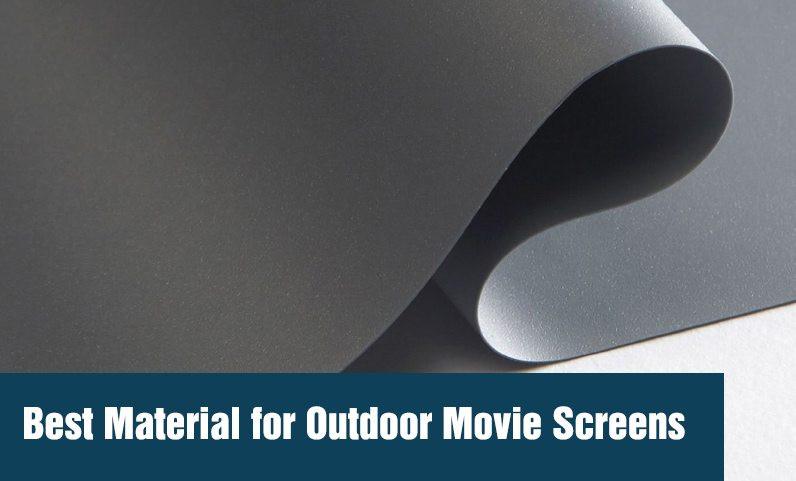 DIY Outdoor Movie Screen Material  Best Material for Outdoor Movie Screens Outdoor Movie HQ