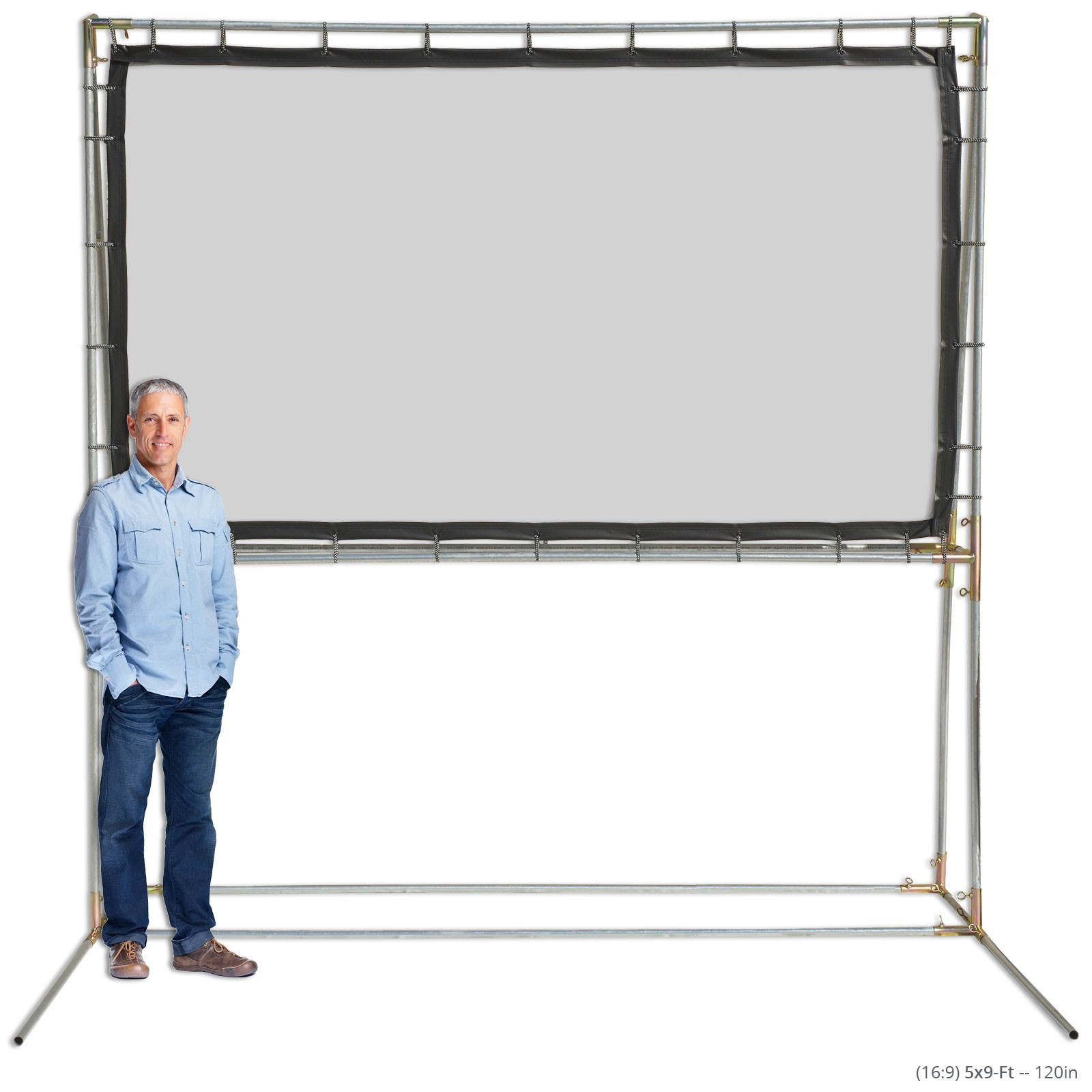 DIY Outdoor Movie Screen Material  Freestanding Movie Screen Kits Outdoor Projection Screens