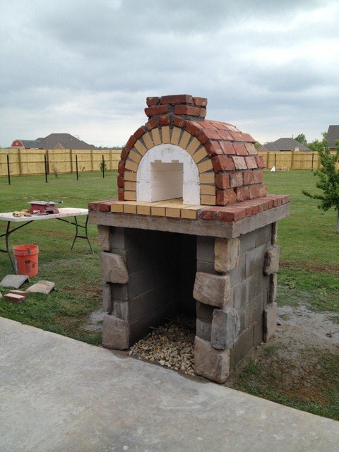 DIY Outdoor Oven  The Moon Family DIY Wood Fired Pizza Oven in Oklahoma by