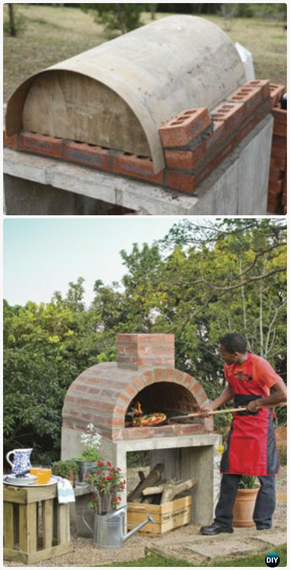DIY Outdoor Oven  DIY Outdoor Pizza Oven Ideas & Projects Instructions
