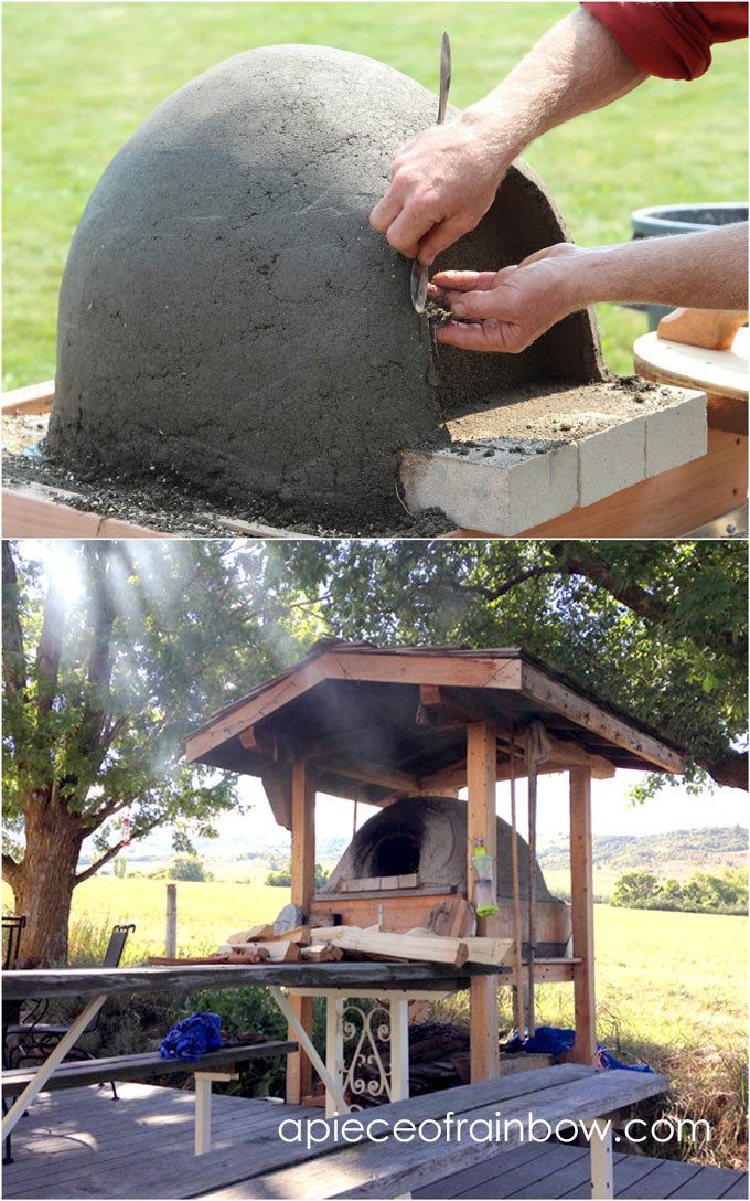 DIY Outdoor Oven  DIY Wood Fired Outdoor Pizza Oven Simple Earth Oven in 2