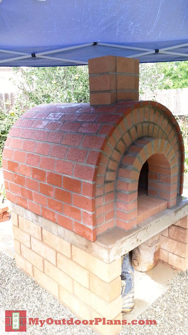 DIY Outdoor Oven  DIY Brick Pizza Oven MyOutdoorPlans