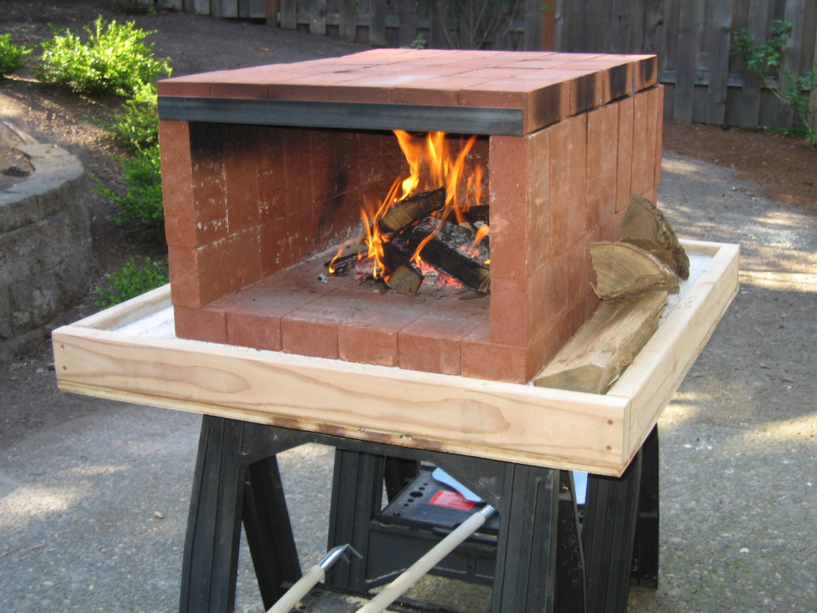 DIY Outdoor Oven  Tinkering Lab Portable Pizza Oven