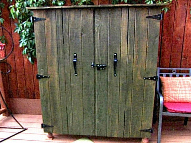DIY Outdoor Tv Cabinet  DIY Outdoor Projects