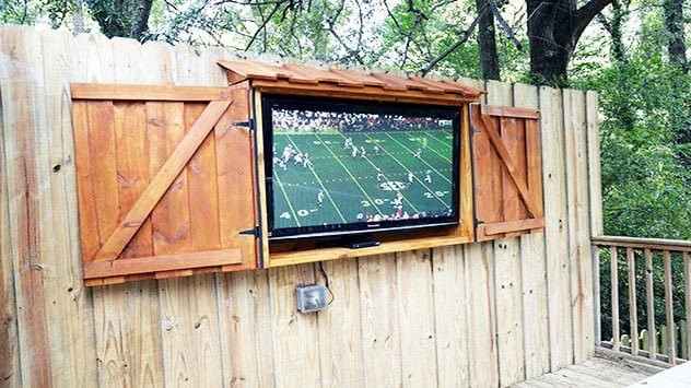 DIY Outdoor Tv Cabinet  How to Build an Outdoor TV Cabinet