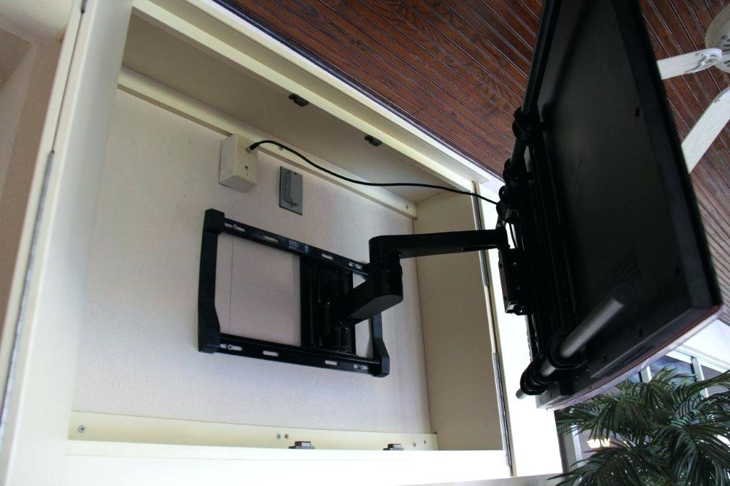 DIY Outdoor Tv Cabinet  Outdoor Weatherproof Tv Cabinet