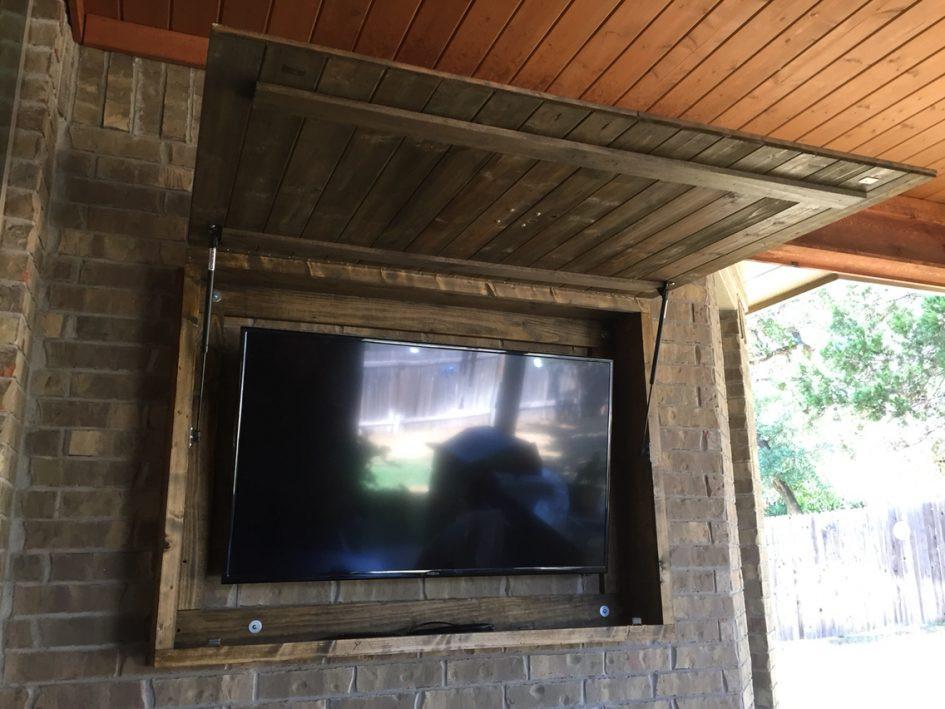 DIY Outdoor Tv Cabinet  Weatherproof Outdoor Tv Enclosure