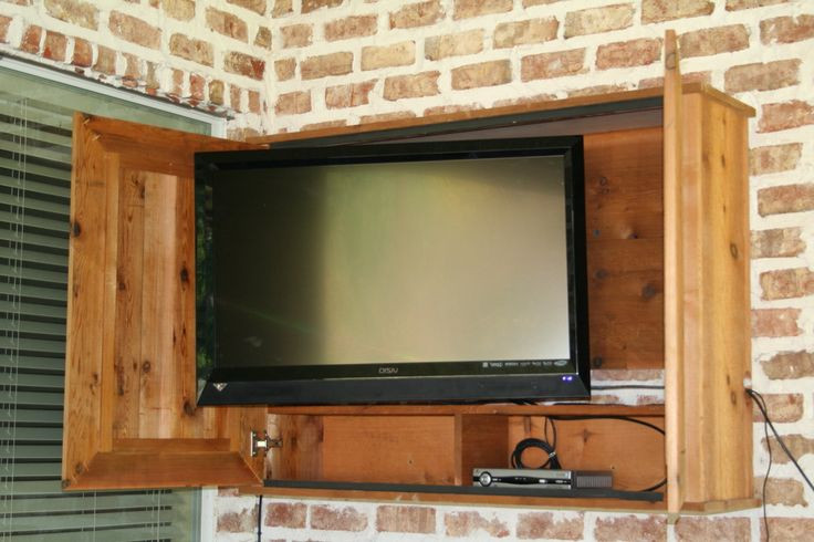 DIY Outdoor Tv Cabinet  26 best images about Outdoor TV Cabinets on Pinterest