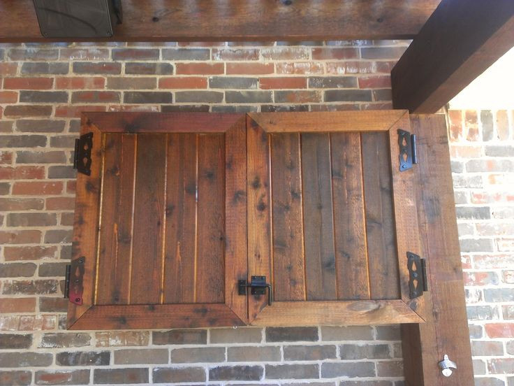 DIY Outdoor Tv Cabinet  Outdoor Tv Cabinet Diy WoodWorking Projects & Plans