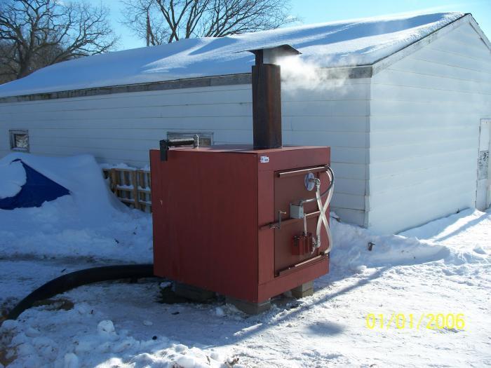 DIY Outdoor Wood Furnace  Homemade Wood Boiler Plans plete Step by Step Guide