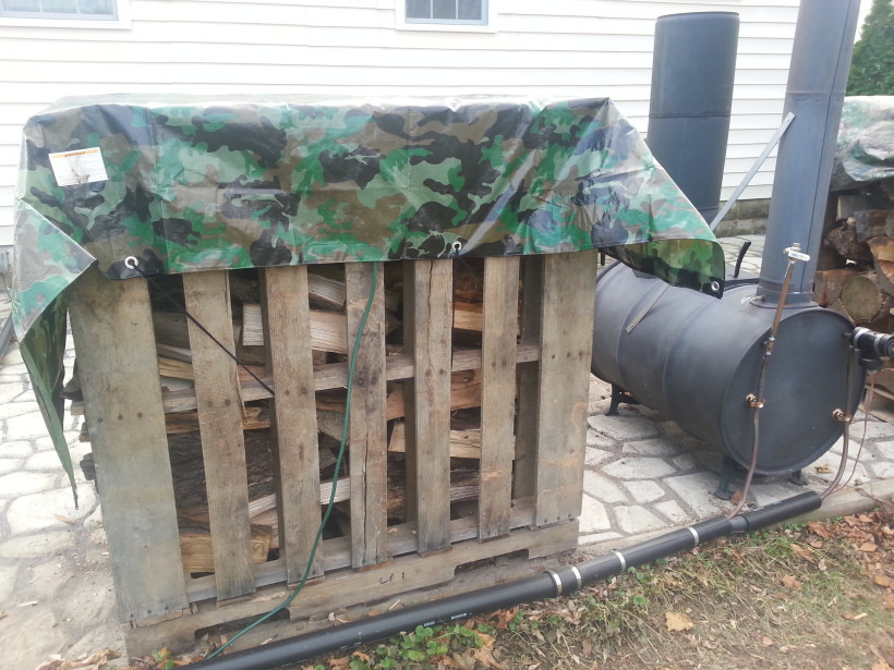 DIY Outdoor Wood Furnace  DIY Barrel Stove Outdoor Furnace Plumbing