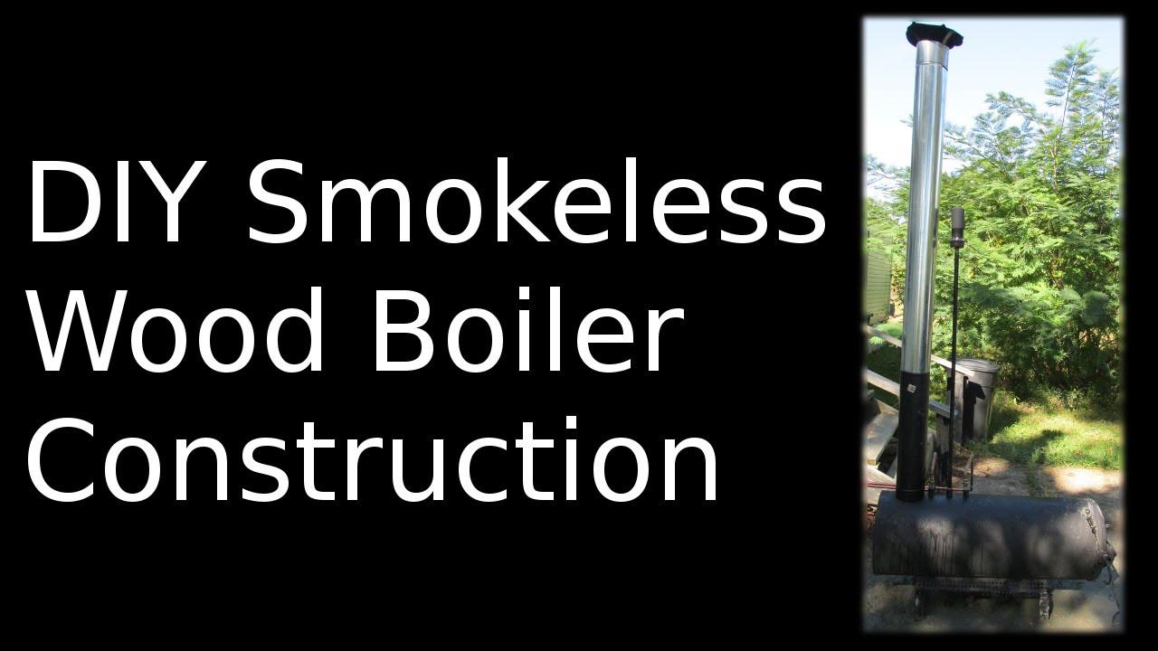DIY Outdoor Wood Furnace  DIY Wood Boiler How To