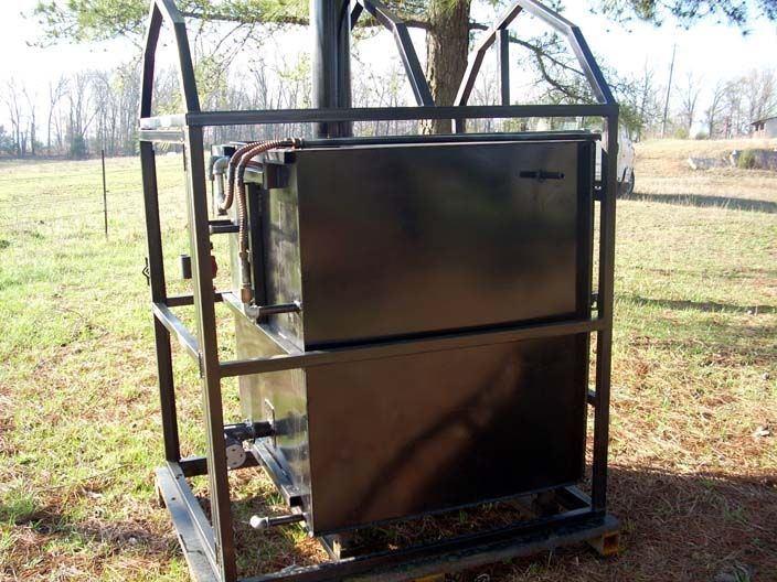 DIY Outdoor Wood Furnace  How to build your own outside wood burning stove