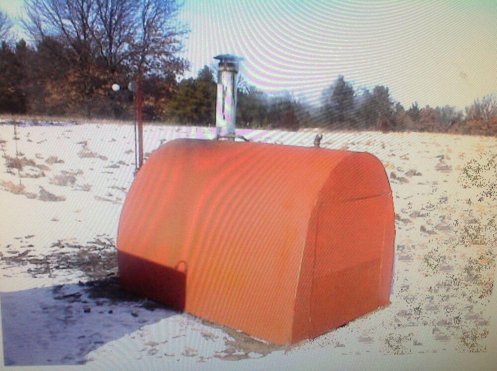 DIY Outdoor Wood Furnace  Outdoor Wood Burner Boiler Furnace plan 2 Using Salvage