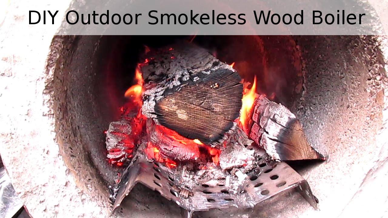 DIY Outdoor Wood Furnace  DIY Outdoor Wood Boiler Preview