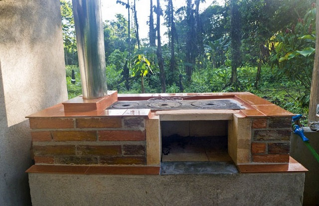DIY Outdoor Wood Furnace  How To Build Your Own DIY Outdoor Wood Stove Oven Cooker