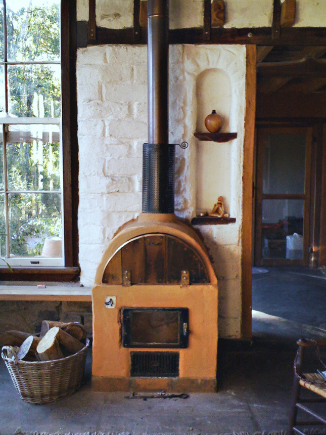 DIY Outdoor Wood Furnace  homemade outdoor forced air wood furnace plans