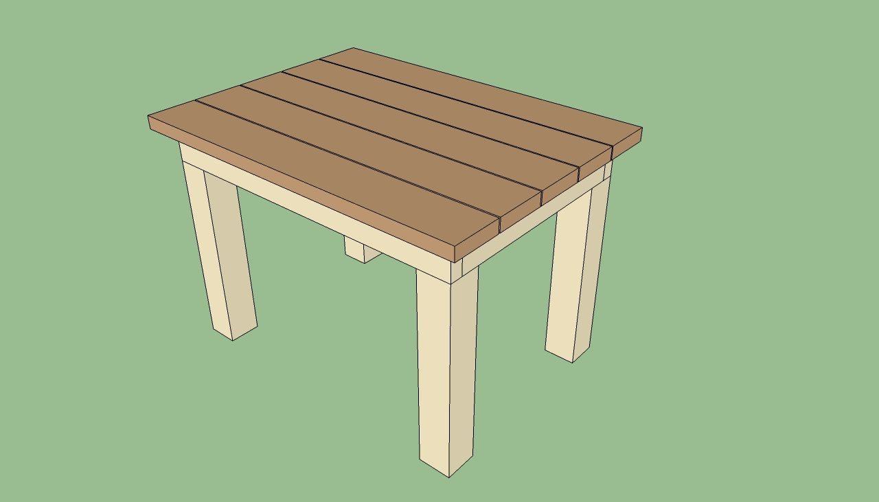 DIY Outdoor Wooden Table  Me work Easy woodworking bench